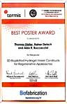 "Towards entry ""Thomas Distler WW7 wins best poster award at international workshop"""